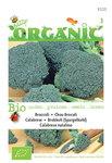 Biologische groene Broccoli Calabrese zaden