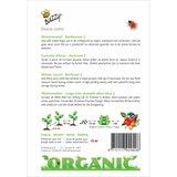 Biologische Winterwortelen Berlikumer 2 zaden achterkant