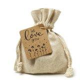 Let love grow - bedankje trouwen