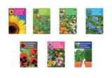 Een bloeiend nieuwjaar - Brievenbus bedankje; zaden in linnenzakje met ansichtkaart_