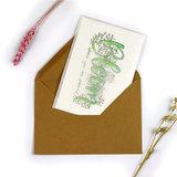 Ansichtkaart in envelop