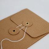 Sluitingsmethode Japanse envelop