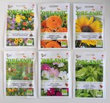 Dankjewel  - biologisch zadenpakket met ansichtkaart _
