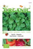 Biologische Rucola gewone zaden