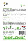 Biologische Bloemenmengsel - Bijen zaden achterkant
