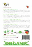 Biologische Paprika - Yellow California Wonder zaden achterkant