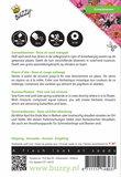 Zomerbloemen Rose en Rode Tinten zaden - achterkant