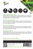 Augurken National (Kleine Groene) zaden - achterkant