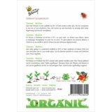 Tomaten Matina zaden (BIO) - achterkant