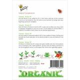 Tomaten Roma VF zaden (BIO) - achterkant
