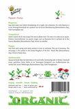 Biologische Klaproos Rood Papaver zaden - achterkant