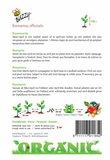 Bio Rozemarijn zaden - achterkant