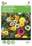 Eetbare bloemen mengsel zaden - voorkant