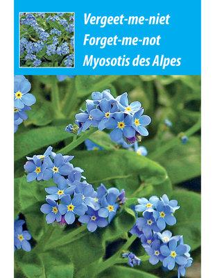 weggeef zakjes Vergeet-me-niet zaden  (blauw)