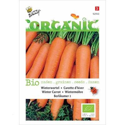Biologische Winterwortelen Berlikumer 2 zaden