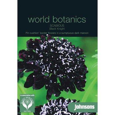 Botanics Duifkruid Scabious Black Night zwart zaden