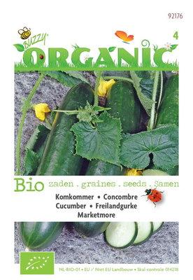 Biologische Komkommer Marketmore