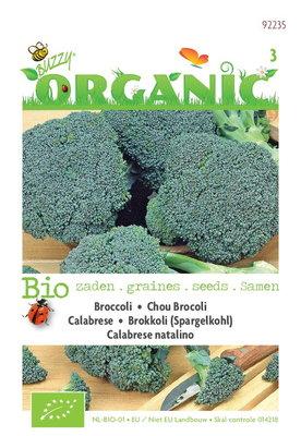 Biologische groene Broccoli Calabrese