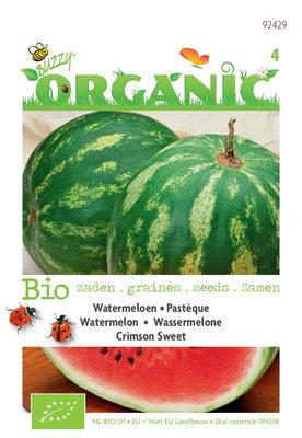 Biologische Watermeloen Crimson Sweet