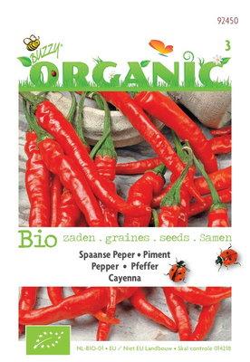 Biologische Peper Cayenna