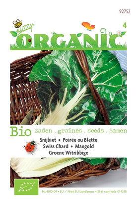 Biologische Groene Snijbiet Witribbige