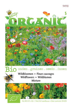 Biologische Wildbloemen mengsel