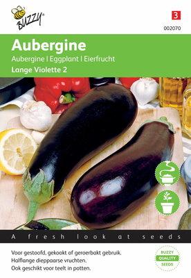 Aubergine (Half) lange Violette