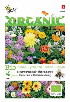 Biologische bijen bloemenmix mengsel