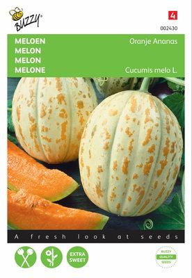 Meloenen Oranje Ananas zaden