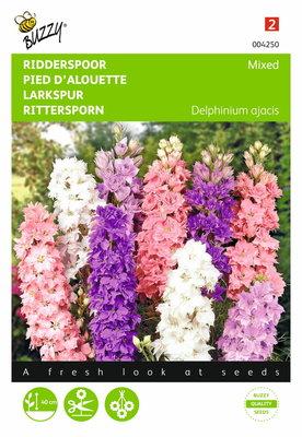 Ridderspoor hyacinthbloemig (gemengd)