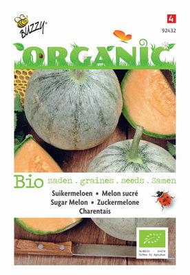 Biologische Suikermeloen Charentais zaden