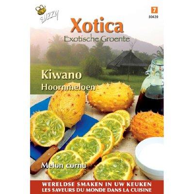 Hoornmeloen Xotica Kiwano zaden