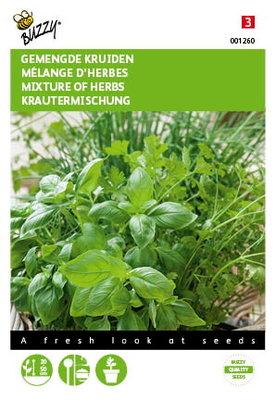 Gemengde Kruiden (basilicum, bieslook, koriander) zaden
