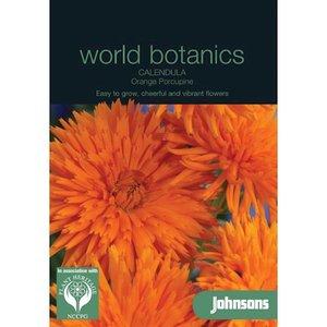 Botanics Goudsbloem Calendula Orange Porcupine oranje zaden