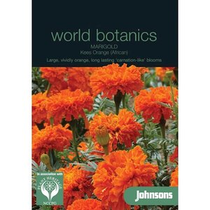 Botanics Afrikaan Marigold Kees Orange oranje zaden