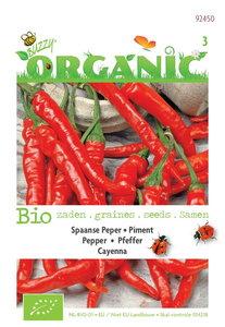 Biologische Peper Cayenna zaden