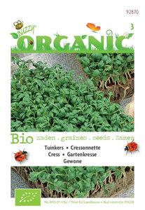 Biologische Tuinkers gewone zaden