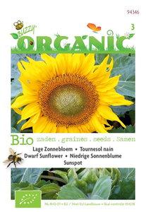 Biologische Zonnebloem type Sunspot zaden