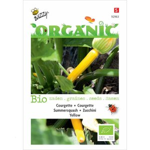 Courgette Yellow / Geel zaden (BIO)