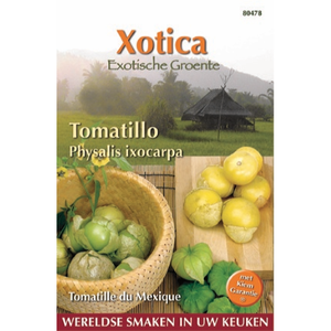 Mexicaanse aardkers Tomatillo zaden - voorkant