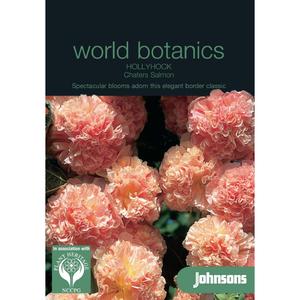 Botanics Stokroos Hollyhock Chaters Salmon zaden