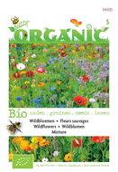 Biologische Wildbloemen mengsel zaden