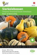 Cucurbita Sierkalebas Klein- en Groot (gemengd) zaden